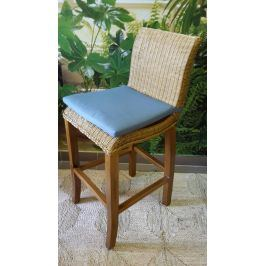 Ratanová barová židle CLAUDIA