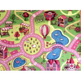 Dětský koberec Sladké město