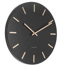 Designové nástěnné hodiny 5821BK Karlsson 30cm