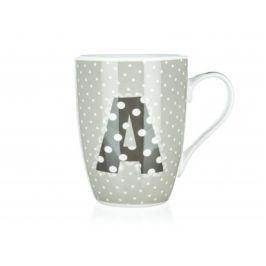 BANQUET Hrnek keramický ABC 340 ml, písmeno A