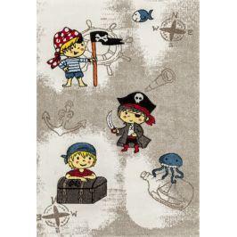 Dětský koberec Momo 557-01 coffee