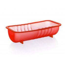 BANQUET Forma na srnčí hřbet silikonová CULINARIA Red 26 x 13 x 6,5 cm