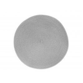 BANQUET Prostírání kulaté TONDO průměr 38 cm, světle šedé
