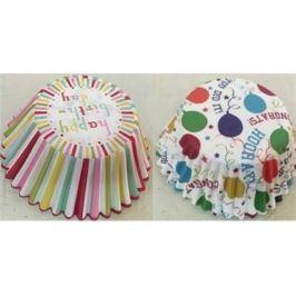 BANQUET Sada cukrářských košíčků PARTY 8,7 cm, 100 ks