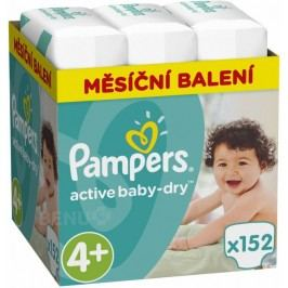 Pampers Active Baby Pleny  S4  152ks
