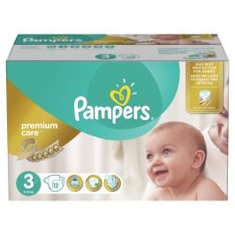 Pampers Plenky Premium Mega Box S3 120