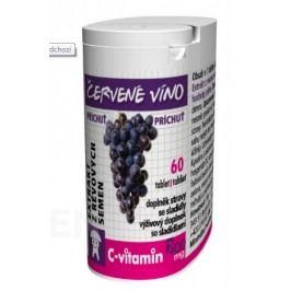 C-Vitamin 200mg - Červené víno se sukralózou