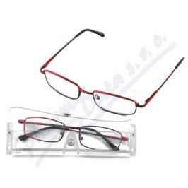 Brýle čtecí American Way +3.50 červené v etui