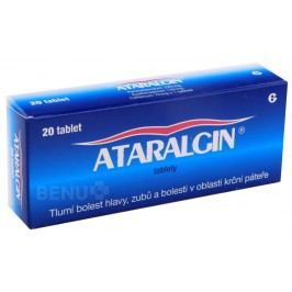 ATARALGIN 325MG/130MG/70MG neobalené tablety 20 Léky na migrény a bolesti hlavy