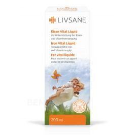 LIVSANE tekutá podpora vitality se železem 200 ml