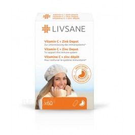 LIVSANE Vitamin C + Zinek tablety 60 ks