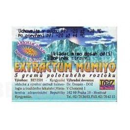 Mumiyo extractum 5g Ostatní doplňky stravy