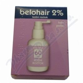 BELOHAIR 2% 20MG/ML kožní podání SOL 1X60ML Přípravky na svědění kůže a hlavy