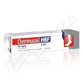 CLOTRIMAZOL HBF 10MG/G krém 1X20G
