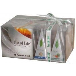 Tea of Life Čer.čaj dárk.kolekce 4př.12ks pyramid