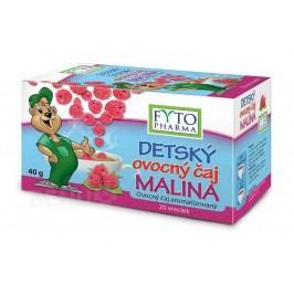 Dětský ovocný čaj Malina 20x2g Fytopharma