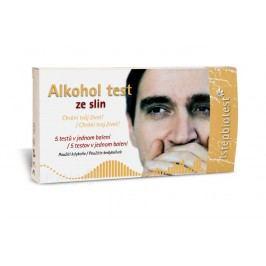 Alkohol test ze slin 5ks