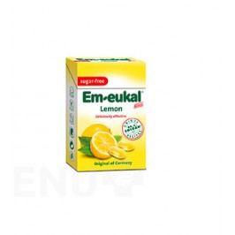 Em-Eukal Citron.dropsy s vit.C bez cukru 40g krab.