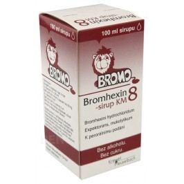 BROMHEXIN 8-SIRUP KM 8MG/10ML sirup 100ML