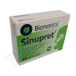 SINUPRET obalené tablety 50