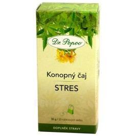 Dr.Popov Čaj konopný Stres n.s.20x1.5g
