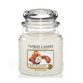 YANKEE CANDLE vonná svíce Soft blanket 411g