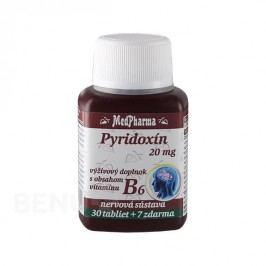 MedPharma Pyridoxin (vitamin B6) 20mg tbl.37