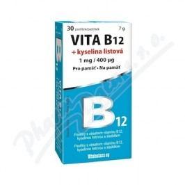 Vita B12 + kyselina listová 1 mg/400mcg tbl.30