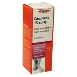 CANDIBENE 1% SPRAY 10MG/ML kožní podání SPR SOL 1X40ML