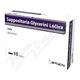 SUPPOSITORIA GLYCERINI LÉČIVA 2,06G čípek 10
