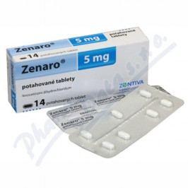 ZENARO 5MG potahované tablety 14 IV