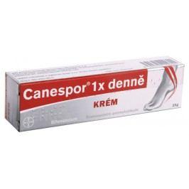 CANESPOR 1X DENNĚ KRÉM 0,01G/G krém 15G Léky na kožní plísně a vředy