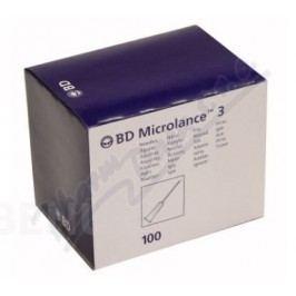 BD Microlance Inj. jehla 25G 0.50x25 oranž. 100ks - II. jakost