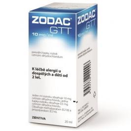 ZODAC 10MG/ML POR GTT SOL 1X20ML II