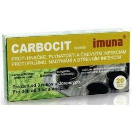 CARBOCIT 320MG/25MG/3MG neobalené tablety 20 Léky na průjem