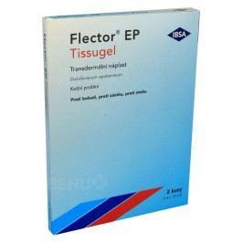 FLECTOR EP TISSUGEL 180MG transdermální EMP 2 Léky na bolesti kloubů