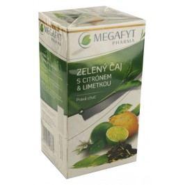 Megafyt Zelený čaj s citrónem a limetkou 20x1.5g