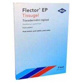 FLECTOR EP TISSUGEL 180MG transdermální EMP 5