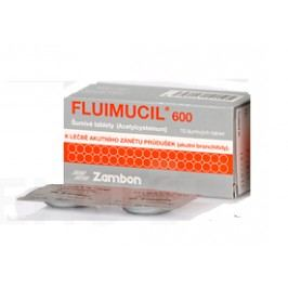 FLUIMUCIL 600 600MG šumivá tableta 10