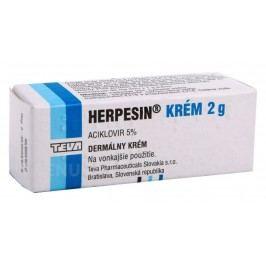 HERPESIN 50MG/G krém 2G Léčba oparů