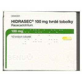 HIDRASEC 100MG tvrdé tobolky 10 Léky na průjem