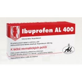 IBUPROFEN AL 400 400MG potahované tablety 30