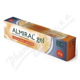 ALMIRAL 10MG/G gely 50G