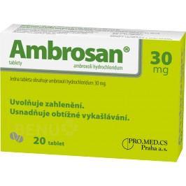 AMBROSAN 30MG neobalené tablety 20