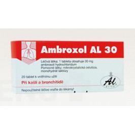 AMBROXOL AL 30 30MG neobalené tablety 20