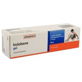 INDOBENE 10MG/G gely 50G