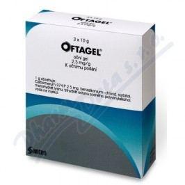 OFTAGEL 2,5MG/G oční podání GEL 30G