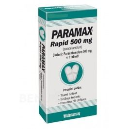 PARAMAX RAPID 500MG neobalené tablety 30