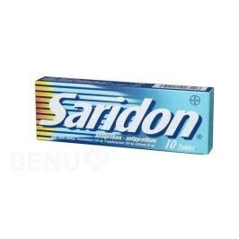 SARIDON 250MG+150MG+50MG neobalené tablety 10