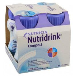 NUTRIDRINK COMPACT NEUTRAL perorální SOL 4X125ML Speciální výživa